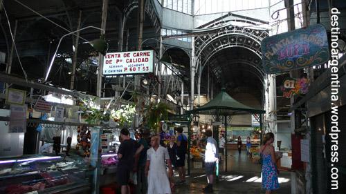 Markthalle in San Telmo Buenos Aires