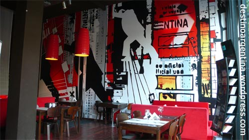 Cafe in Palermo-Soho Buenos Aires