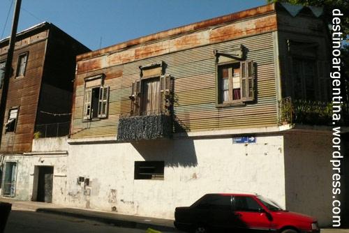 Ein Haus in La Boca Buenos Aires