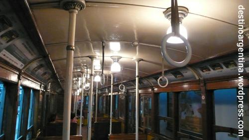 Die historische U-Bahn der Linea A in Buenos Aires