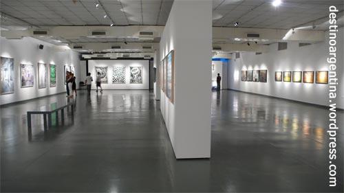 Der Zwischensaal des MNBAs in Buenos Aires