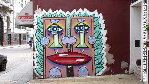 Street Art San Telmo in Buenos Aires