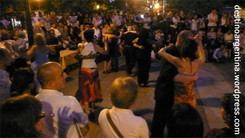Tango am Plaza Dorrego San Telmo Buenos Aires