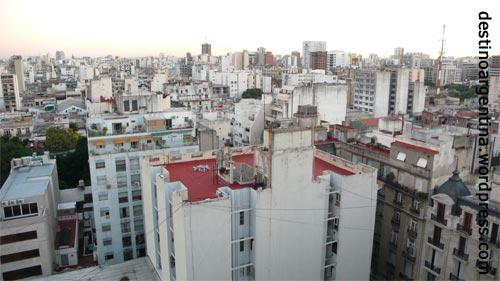Buenos Aires von oben mit Blick stadteinwärts Teil 2