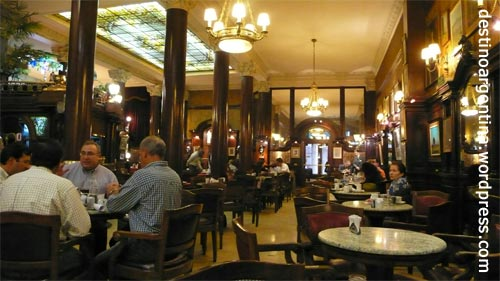 Café Tortini in Buenos Aires Argentinien
