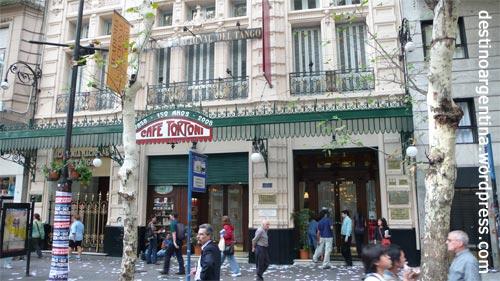 Grand Café Tortoni in der Av. de Mayo Buenos Aires Argentinien