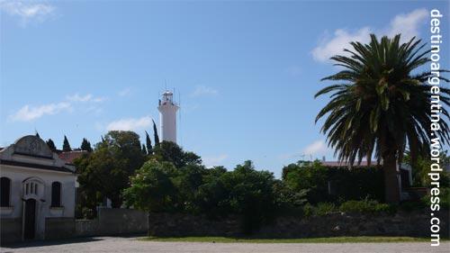Leuchturm in Colonia del Sacramento in Uruguay