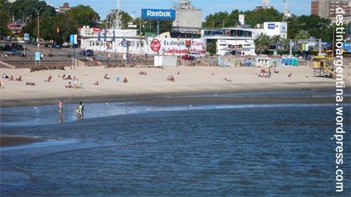 Die Playa Ram�rez Ende März in Montevideo