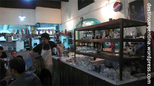 Typisches Speiselokal für Einheimische in San Telmo Buenos Aires