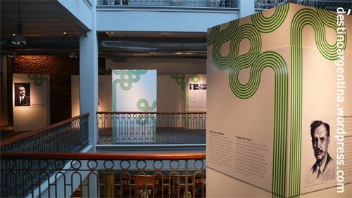Zweiter Stock im Centro Cultural de España in Montevideo
