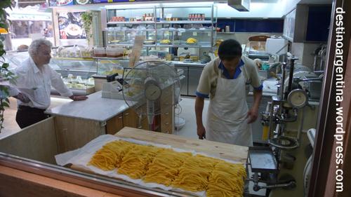Pastaherstellung zum Zugucken in Buenos Aires