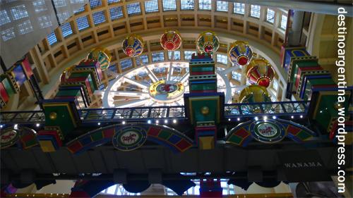 Riesenrad im Shoppingcenter Abasto de Buenos Aires