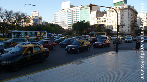 Rush-Hour in Buenos Aires