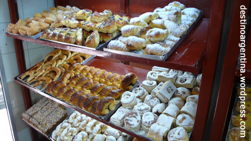 Süße Leckereien aus einer Bäckerei in Buenos Aires