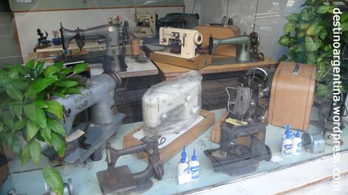 Verkauf und Reparatur von alten Nähmaschinen in Buenos Aires