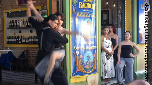 Tango in La Boca Buenos Aires