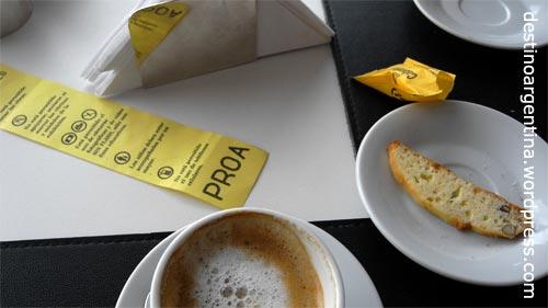 Café im PROA in La Boca Buenos Aires