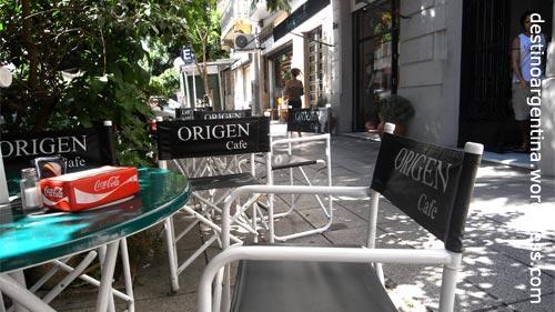 Cafe Origen in San Telmo Buenos Aires