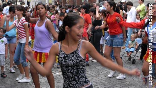 Centro Murga Caprichosos de San Telmo auf der Feria