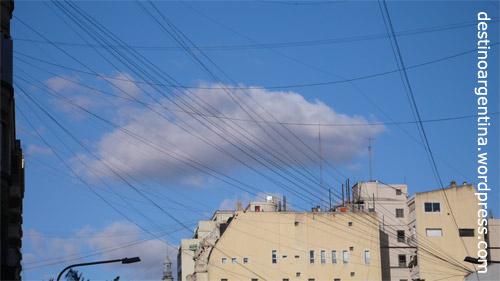 Der vernetzte Himmel von Buenos Aires
