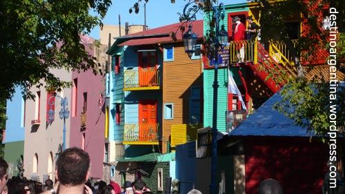 El Caminito in La Boca Buenos Aires, Argentinien