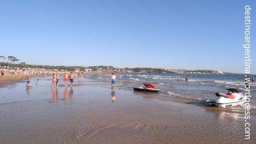 Familienstrand Playa Portezuelo bei Punta del Este in Uruguay