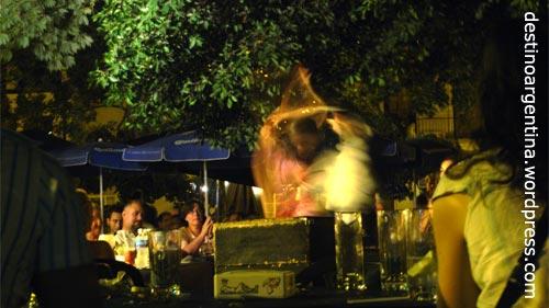 Flamenco auf der Plaza Dorrego in San Telmo Buenos Aires