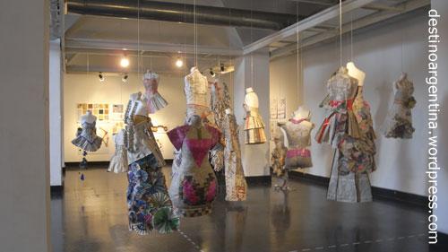 Industrie- und Modedesignausstellung in Montevideo Subte