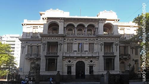 Justizministerium in Montevideo, Uruguay