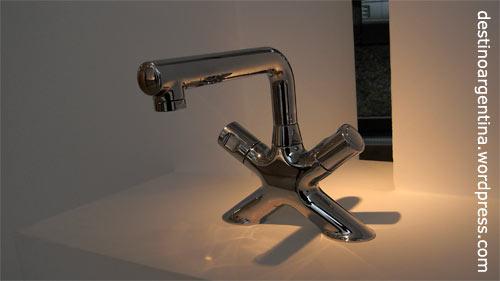 """Küchenarmatur """"Nabuco"""" aus der Ausstellung """"Diseño en Proceso"""" im MALBA Buenos Aires"""