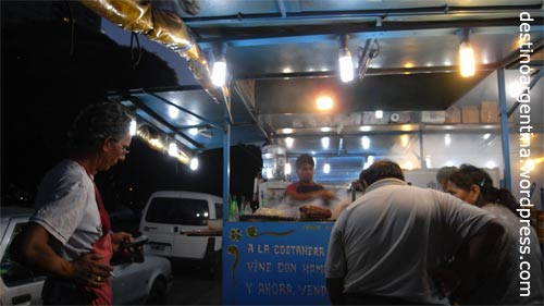 La Parrilla de Julio an der Costanera Sur in Buenos Aires