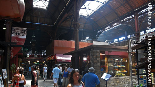 Mercado del Puerto in der Altstadt von Montevideo, Uruguay