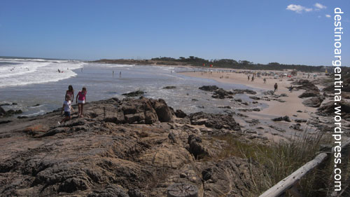 Die Playa de la Barra in Uruguay