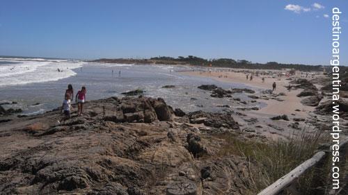 Die Playa de la Barra in Uruguay