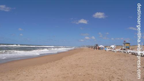 Die Playa la Draga in Punta del Este in Uruguay
