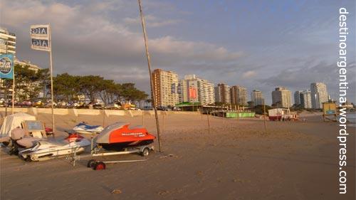 Playa La Pastora in Punta del Este