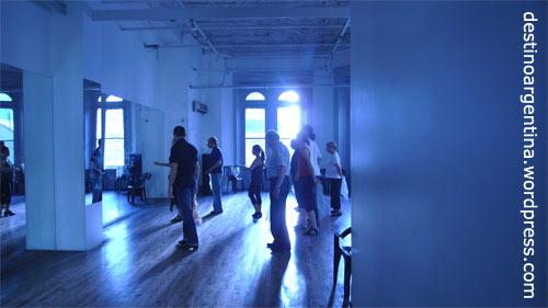 Tangoschule im Centro Cultural Borges Buenos Aires