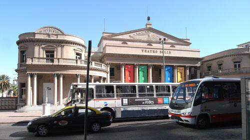 Teatro Solis in Montevideo in Uruguay