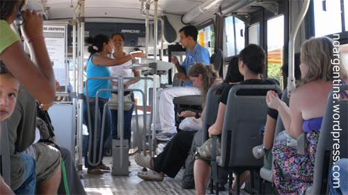 Busfahren auf Brasilianisch nach Foz do Iguaçu in Brasilien
