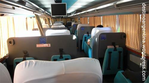 "Cama Suite im ""Via Bariloche"" Reisebus von Buenos Aires nach Iguazú"