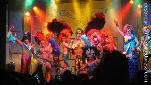 Karneval im Club69 im Niceto Club in Palermo Buenos Aires, Argentinien