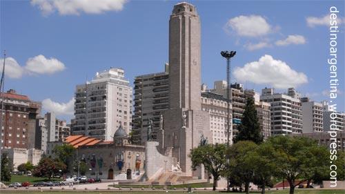Denkmal für die Nationalflagge Argentiniens in Rosario