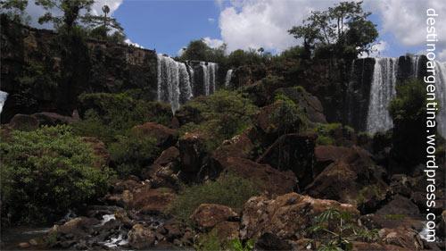 Isla San Martin im Iguazú Nationalpark in Argentinien