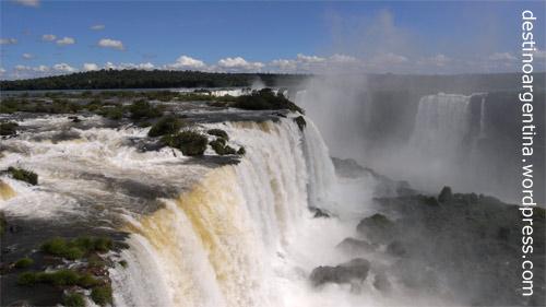 Salto Floriano an der Garganta del Diablo im Parque do Iguaçu in Brasilien